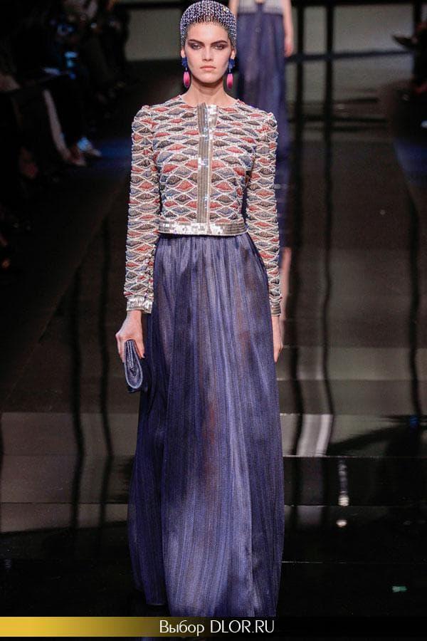 Модные платья на выпускной от Армани