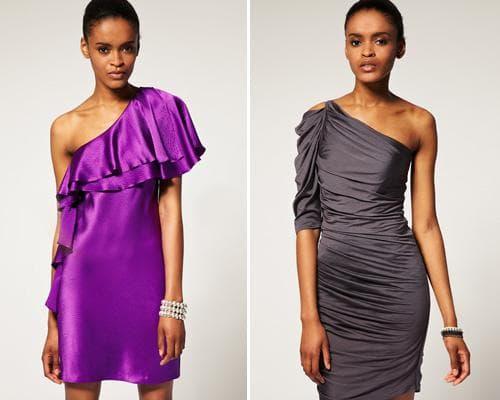 Вечерние атласные платья