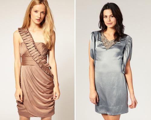 Вечерние шелковые платья
