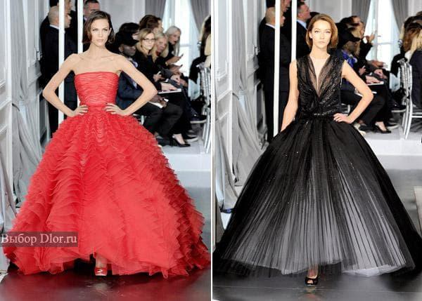 Коллекция Dior весна 2012