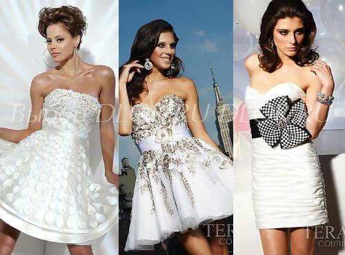 Пышные коктейльные платья