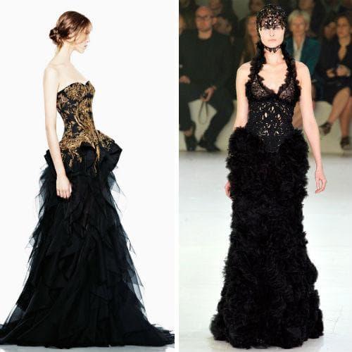 Свадебные наряды от Alexander McQueen