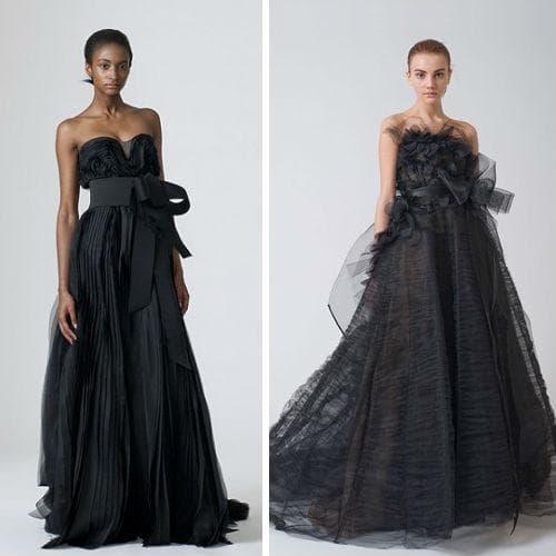 Черные платья в греческом стиле