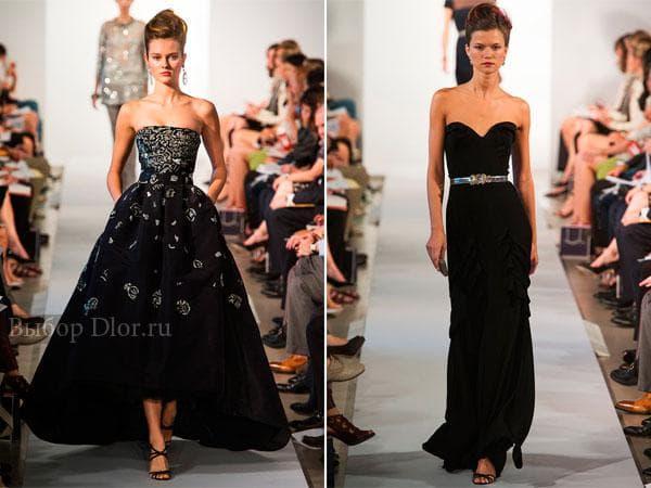 Платье с пышной юбкой и платье-футляр
