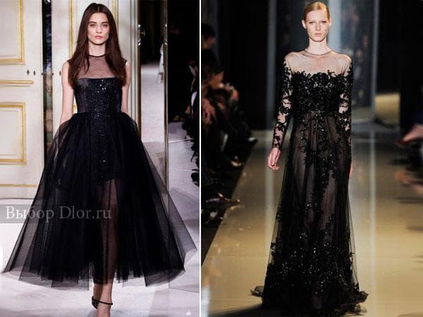 Платья от Giambattista Valli и Elie Saab