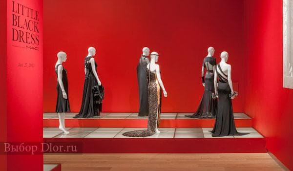 """Музей в честь Коко Шанель """"Маленькое черное платье"""""""