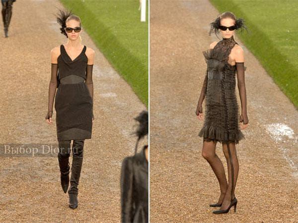 Коллекция платьев от Шанель 2007 года