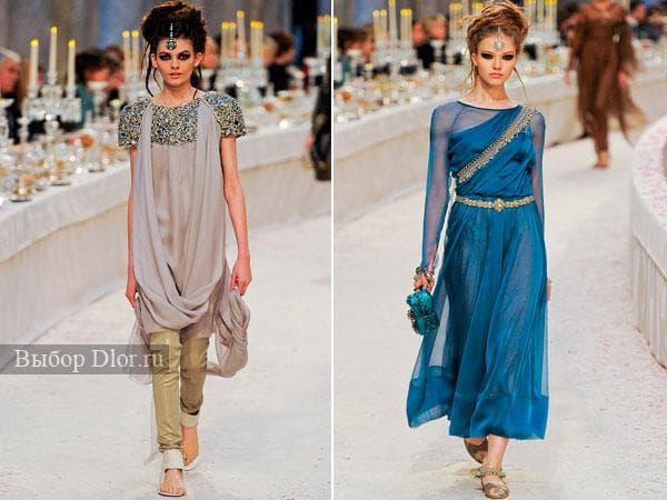 Платья в восточном стиле 2012