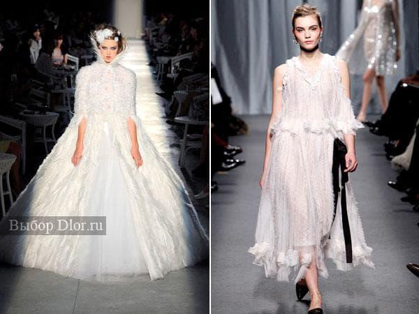 Свадебные платья от Chanel