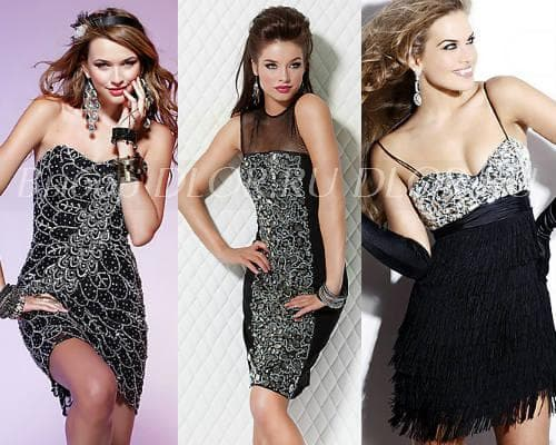 Коктейльные платья - фото