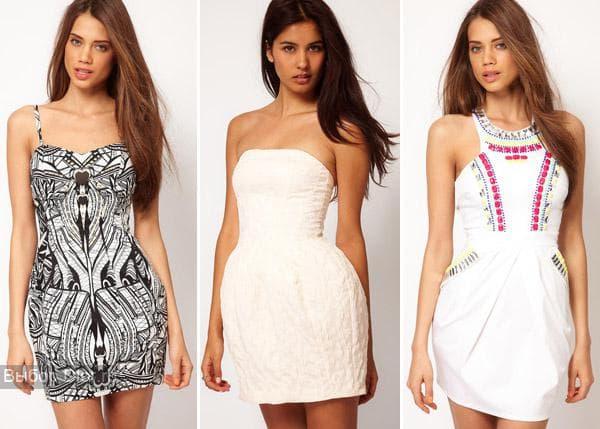 Короткие платья для танцев