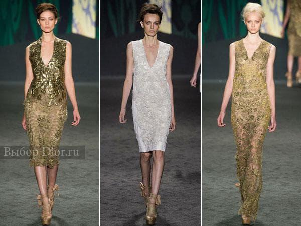 Вечерние платья от Vera Wang