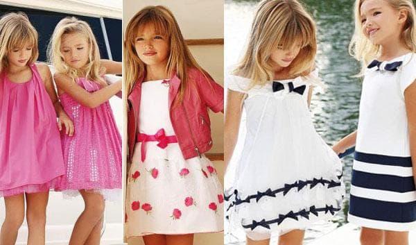 Детские летние платья от Miss Blumarine