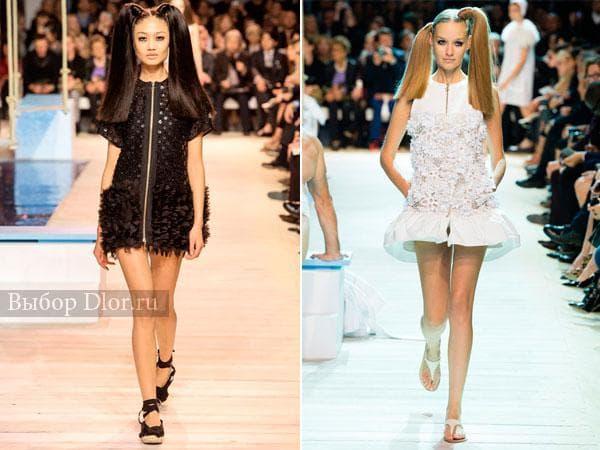 Оригинальные модели платьев от Moncler Gamme Rouge