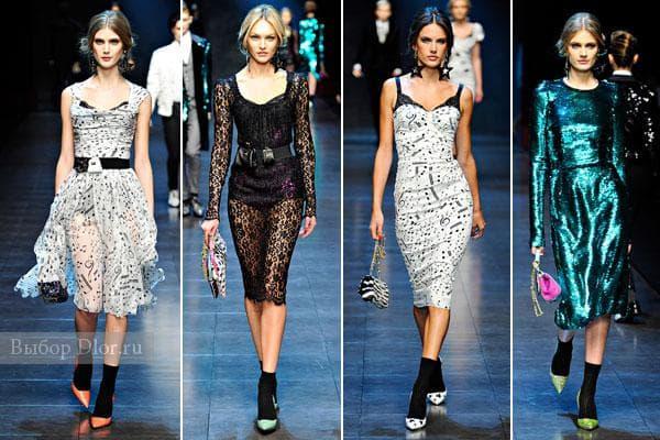 Коллекция платьев 2011
