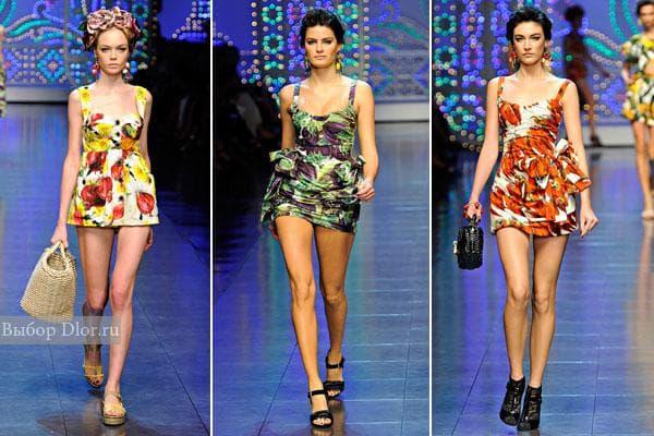 Мини-платья от знаменитого бренда