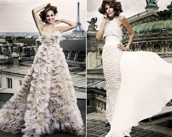 Вечерние платья от знаменитых дизайнеров