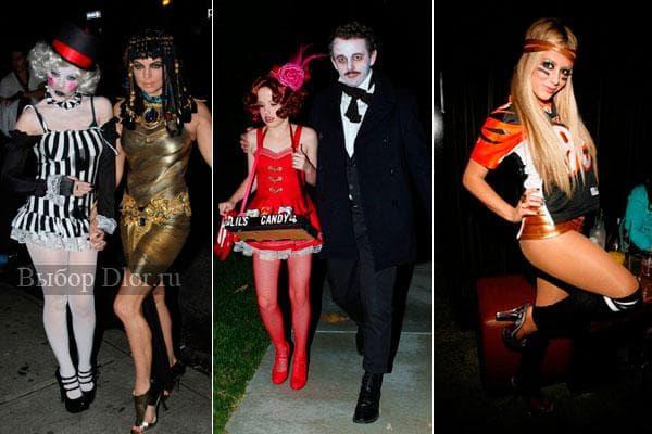 Короткие платья на Хэллоуин