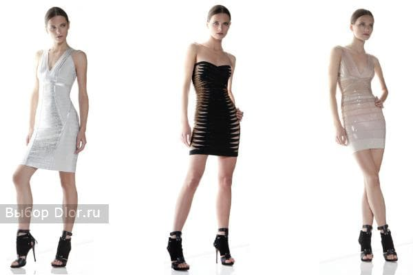 Коллекция платье Herve Leger 2012
