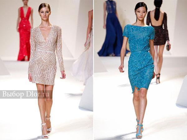 Блестящие платья от Elie Saab