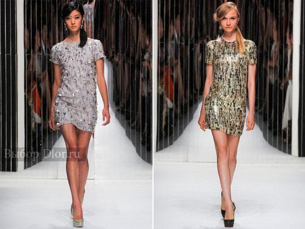 Короткие платья от Jenny Packham