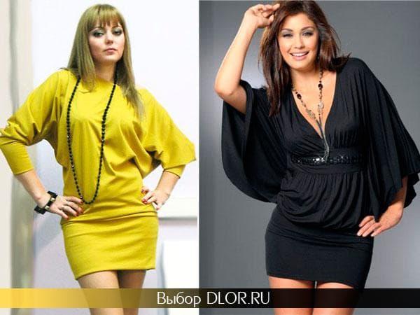 Желтое и черное летнее платье для полных