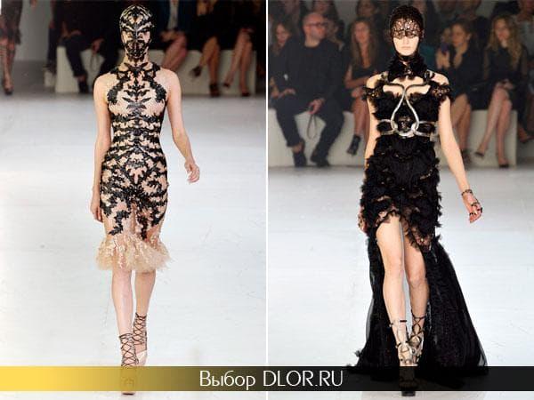 Яркие новогодние платья от креативного бренда Александр МакКуин