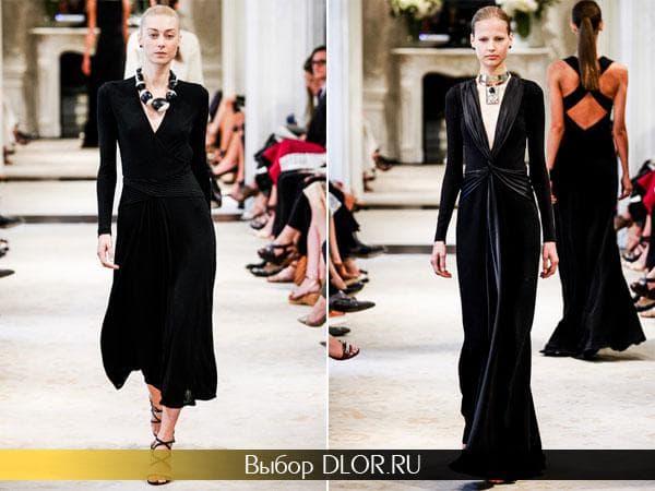Фото черных классические нарядов от Ralph Lauren