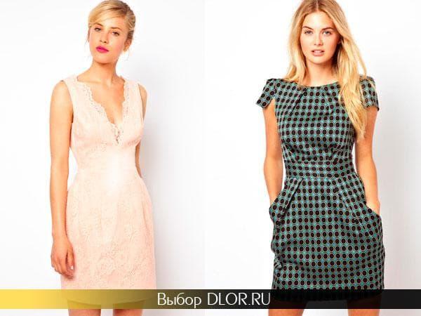 Розовое и серое новогодние платья