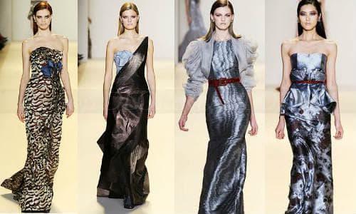 Длинные элегантные платья