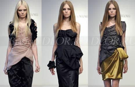Элегантные вечерние платья - фото