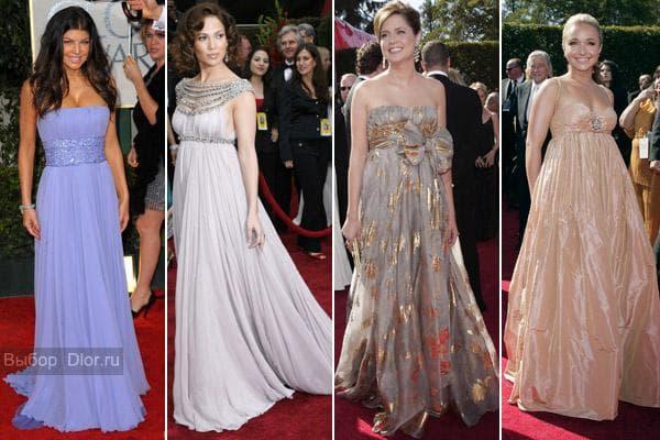Вечерние платья знаменитостей