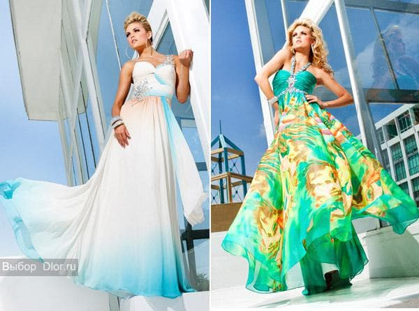 Фото платье в стиле ампир