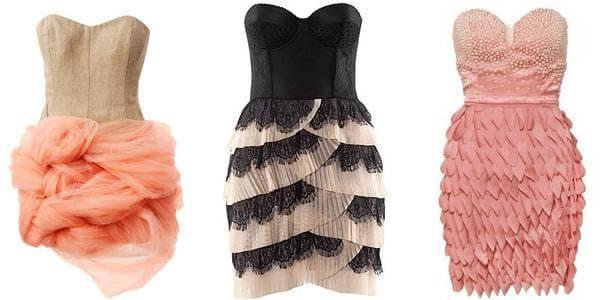 Фото коротких платьев