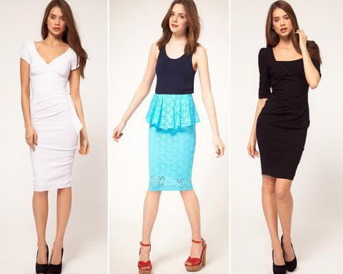 Повседневные платья футляр