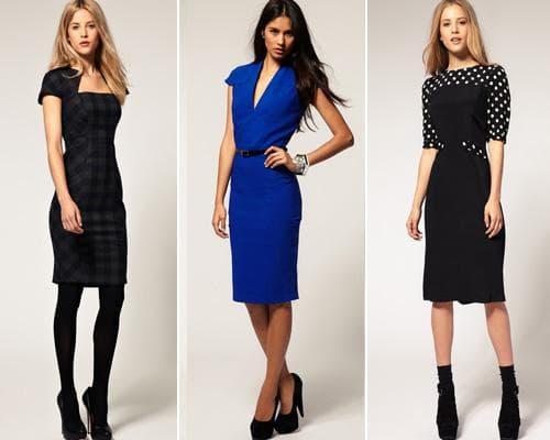Темные цвета - идеальный выбор для делового наряда
