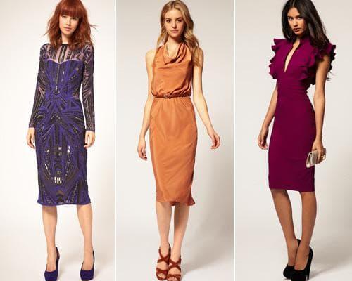 Стильные платья на выход