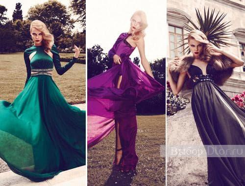 Модные платья Gizia 2012