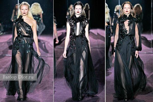 Вечерние платья Gucci 2012