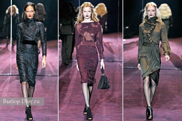 Платье-футляр из коллекции осень-зима 2012