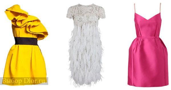 Мини-платья для вечера