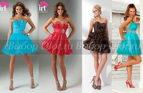 Пожалуй, коктейльные платья на свадьбу, выпускной вечер или другое...