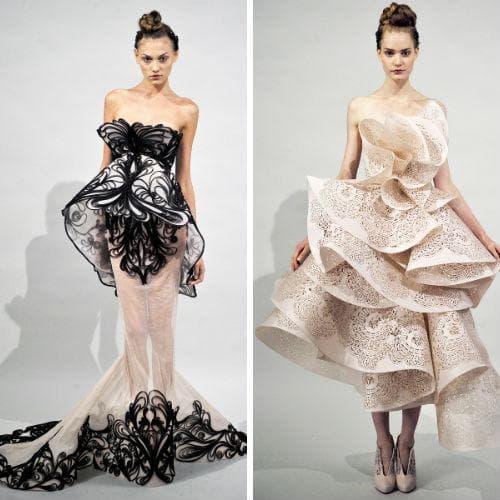 Фото - креативных платьев