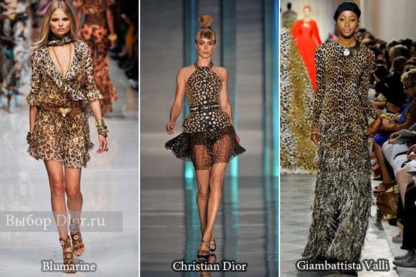 Платья от Blumarine, Christian Dior, Giambattista Valli