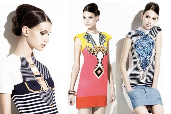 Платья в стиле поп-арт