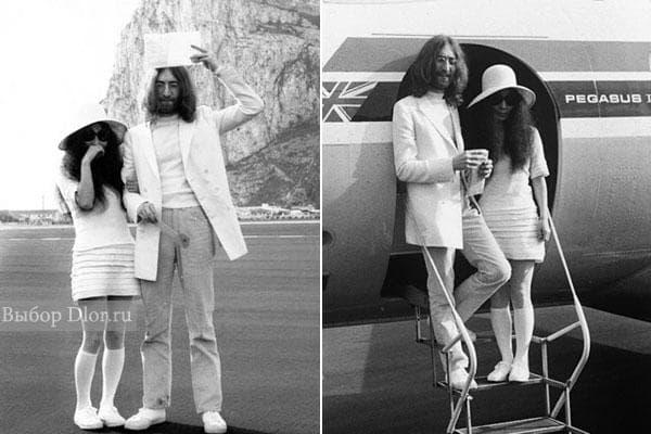 Свадебное платье Yoko Ono