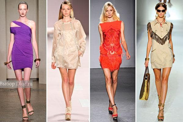 Donna Karan, Akris, Matthew Williamson, Moschino 2012