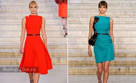 Модные строгие платья