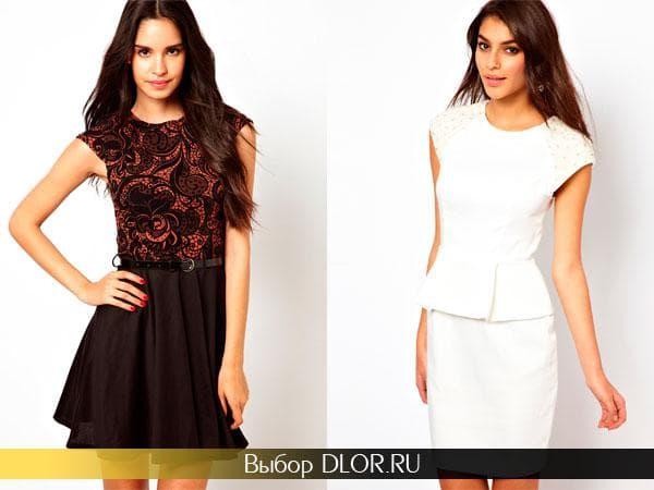Модные деловые платье фото