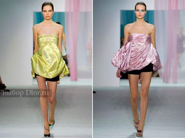 Коктейльные платья от Christian Dior